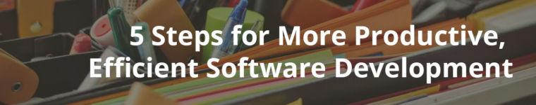Efficient Software Development